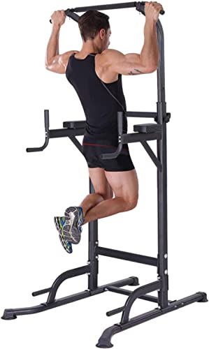 K KiNGKANG Power Tower Home Gym Adjustable Height Pull Up Bar Fitness Equipment Multi-Function Work Out Equipment, T055