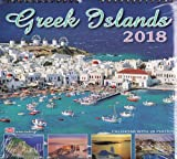 Greek Wall Calendar 2018: Greek Islands