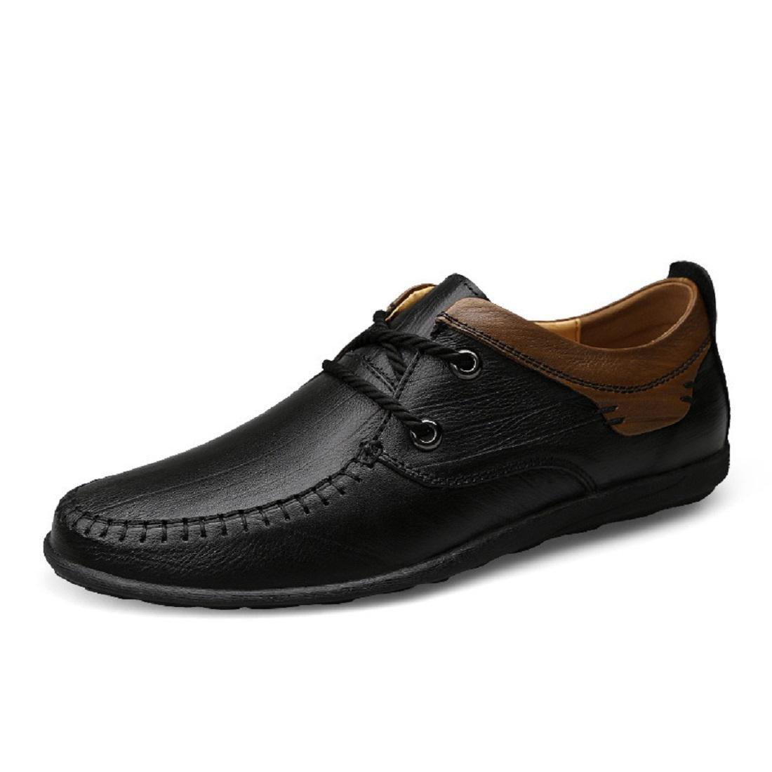Herren Lederschuhe Mode Freizeit Licht Lässige Schuhe Atmungsaktiv Flache Schuhe EUR GRÖSSE 38-45