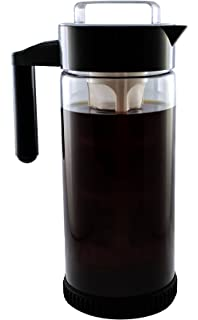 3 in 1 cold brew iced coffee maker with nonslip base iced tea