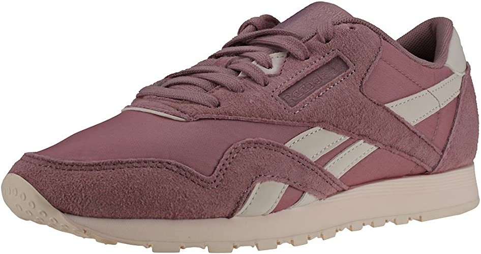 Reebok Damen Classic Leather Nylon Sneaker