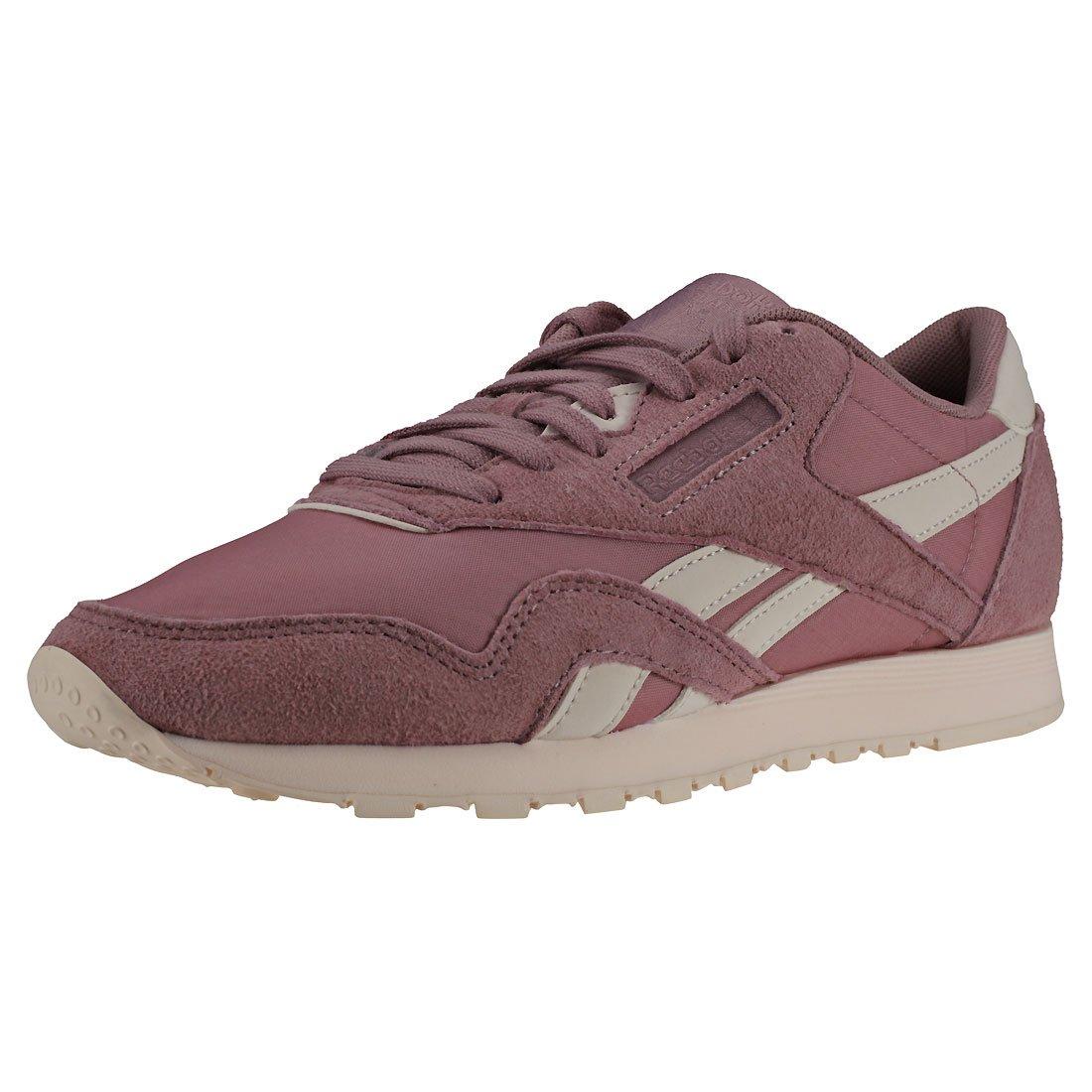 Reebok Cl Nylon, Zapatillas de Deporte para Mujer 36 EU|Multicolor (Seasonal/Infused Lilac/Pale Pink 000)