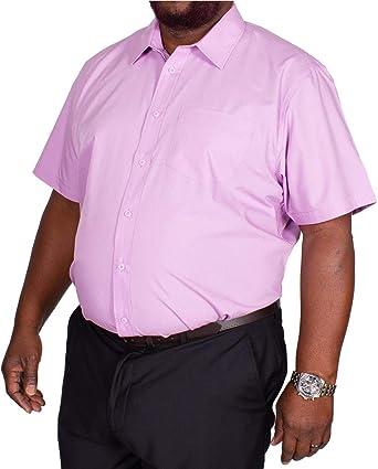 Bigdude Classic - Camisa de Popelina de Manga Corta, Color ...