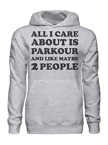 graphke All I Care About Is Parkour Rights and Like Maybe 2 People Sudadera con Capucha para Hombre XX-Large: Amazon.es: Ropa y accesorios