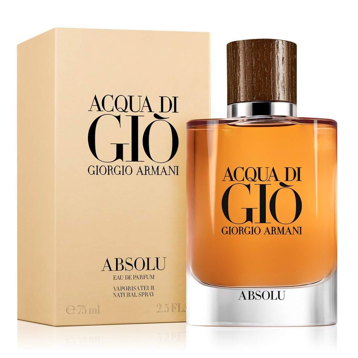 Emporio Armani Acqua di Gio Absolu Uomo Agua de Perfume - 40 ml: Amazon.es