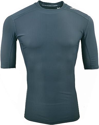 adidas Tee Shirt Techfit TF Chill SS Gris B49038