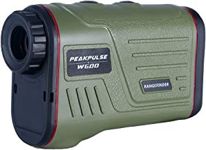 PEAKPULSE 7S Golf Rangefinder with Slope Compensation Technology, Flag Acquisition with Pulse Vibration Technology and Fast Focus System, Perfect for Choosing The Right Club. 300 Yard Range.