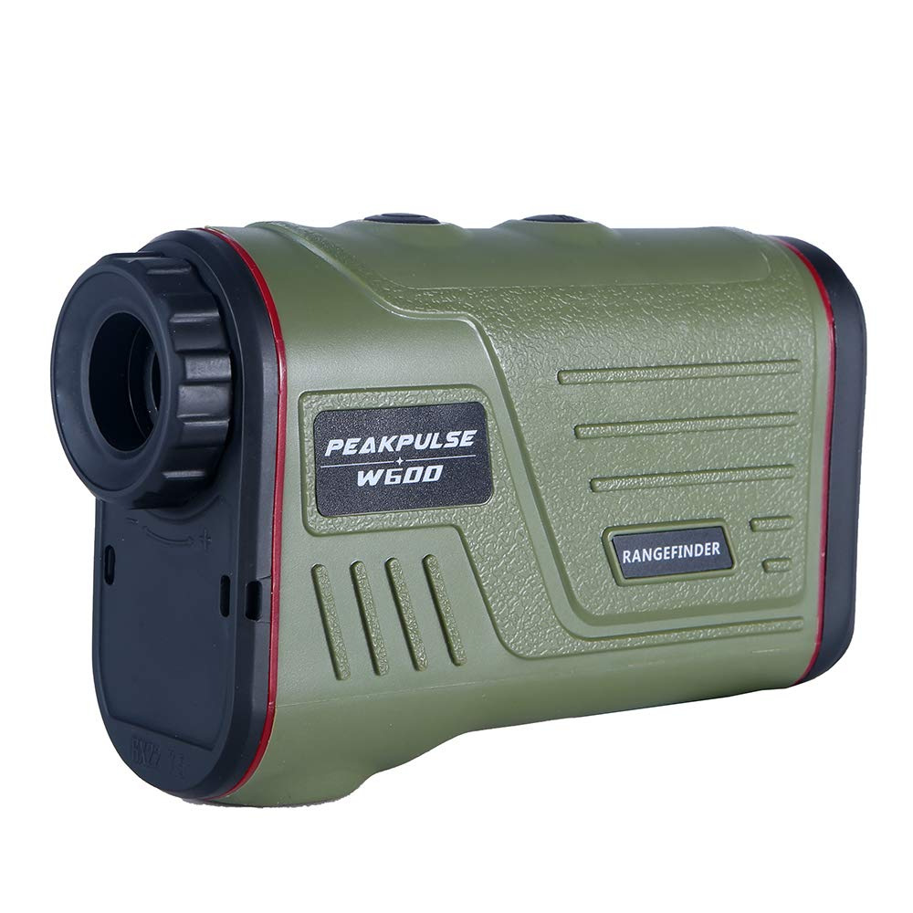 PEAKPULSE 7S Golf Rangefinder with Slope, Golf Laser Range Finder with Slope Compensation, Flag Acquisition Technology, Scan, Pulse Vibration and Fast Focus System. Perfect For Golfers of All Abilitie by PEAKPULSE