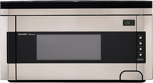Amazon.com: Sharp - Microondas para instalar sobre la estufa ...