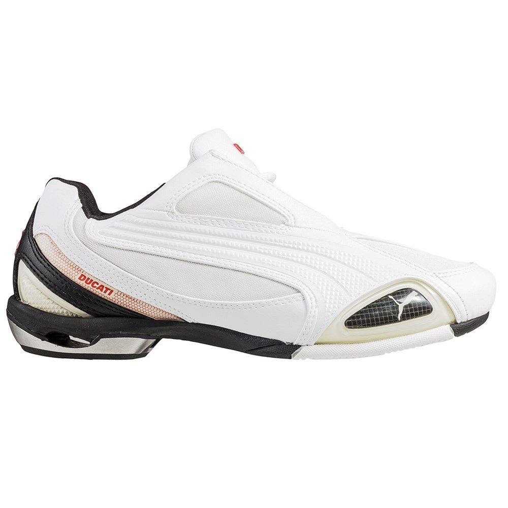 56f39f702302 Puma Testastretta II TM Ducati 303141 02 Mens Sneakers   Casual shoes   Trainers  White 12 UK  Amazon.co.uk  Shoes   Bags