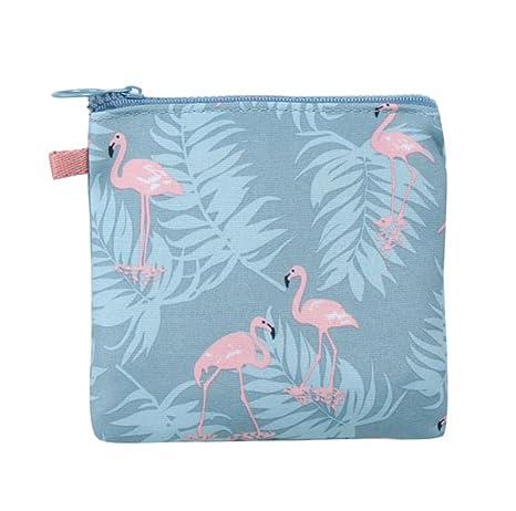 gespout algodón impermeable bolsa de almacenamiento toalla sanitaria uso para servilletas bolsa de cremallera Coin Maquillaje