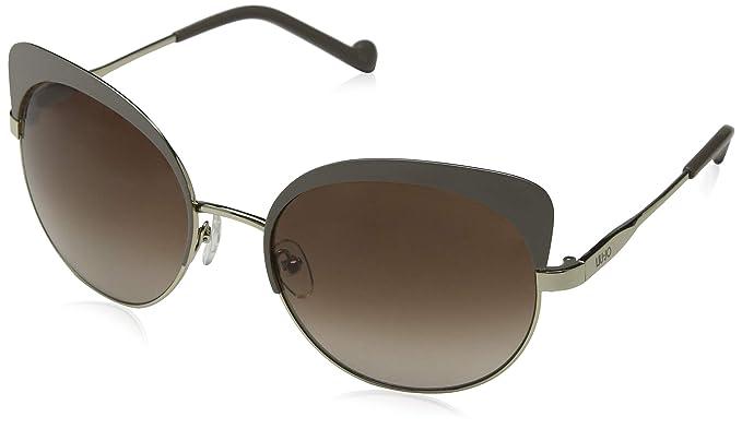 Liu Jo Lj110S 717 59, Gafas de Sol para Mujer, Shiny Gold ...
