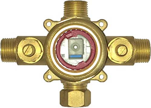 Pulse 3001 Riv Pb Tru Temp Spa Shower Rough In Valve Brass Amazon Com
