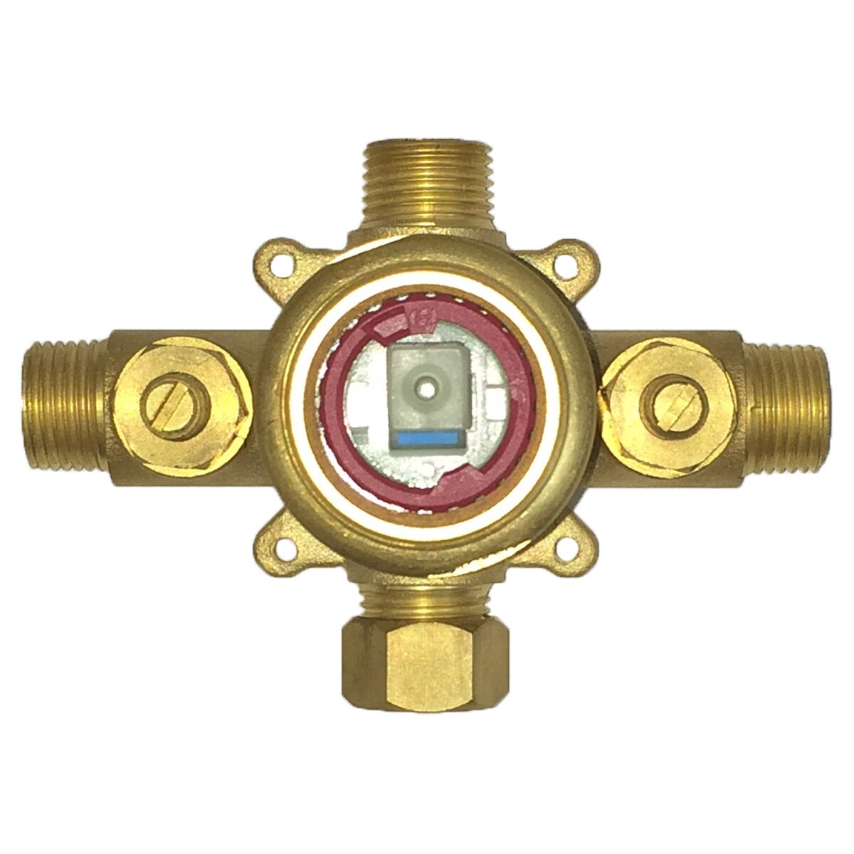 Pulse 3001-RIV-PB Tru-Temp Spa Shower Rough-In Valve, Brass