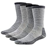 Merino Wool Hiking Socks, RTZAT Unisex Winter Thermal...