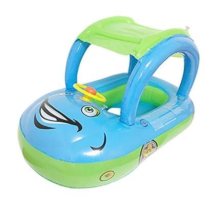 Seasaleshop - Flotador Hinchable para bebés y niños con Asiento de Anillo, para Nadar,