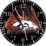 Broncos Frameless Borderless Wall Clock F117 Nice For Gift or Room Wall Decor