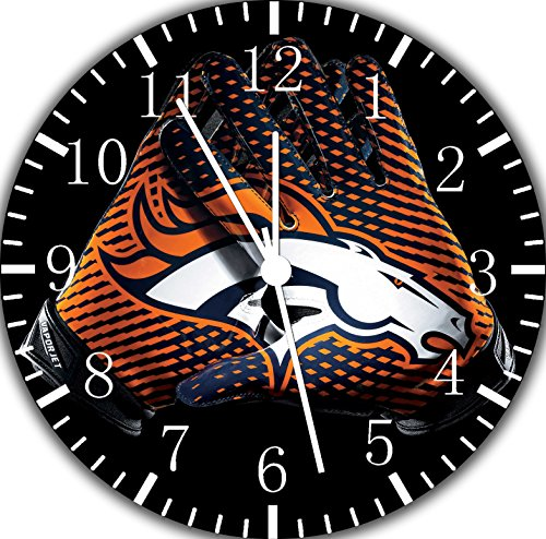 Broncos Frameless Borderless Wall Clock F117 Nice For Gift or Room Wall Decor by Frameless Clock