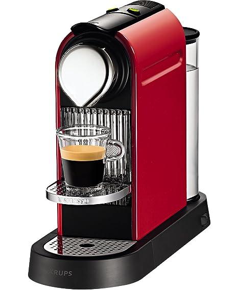 Nespresso Citiz C111 Independiente Totalmente automática Máquina de café en cápsulas 1L Rojo - Cafetera (