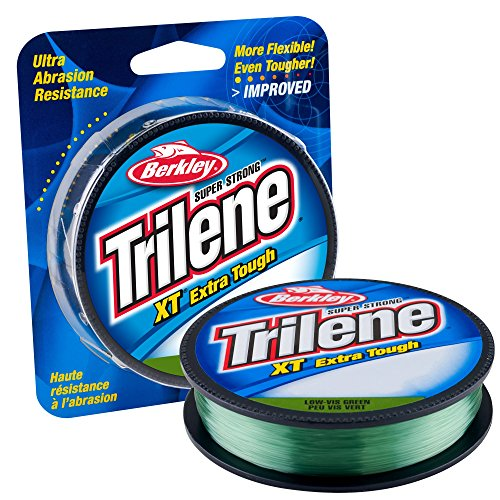 Berkley Trilene XT Monofilament Economy Pack(12-Pound,Low-Vis Green) (Renewed) (Best Flipping And Pitching Rod)