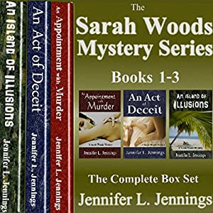 Sarah Woods Mystery Series: Books 1-3 Audiobook
