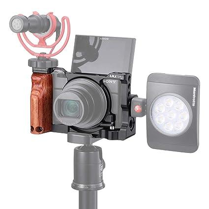 Jaula de metal UURig C-RX100 VII para cámara Sony VX100 VII Vlog ...