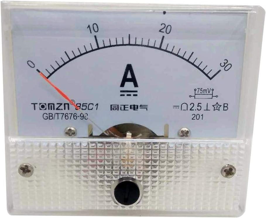 2PCS DC 75mV 15A Current Shunt Resistor For Amp Ammeter Panel Meter FL-2 NEW