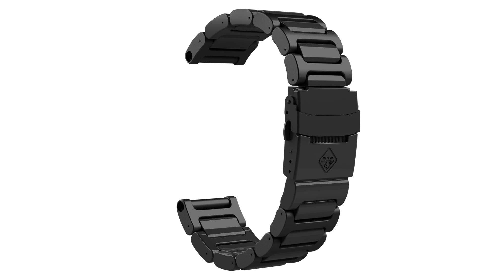 HAZARD 4 Titanium Bracelet for Heavy Water Diver(TM) - Black