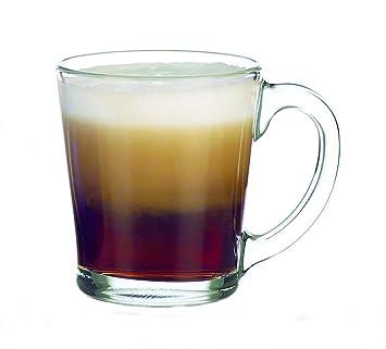 Amazoncom Libbey 13 12 Ounce Flare Glass Coffee Mugs Box of
