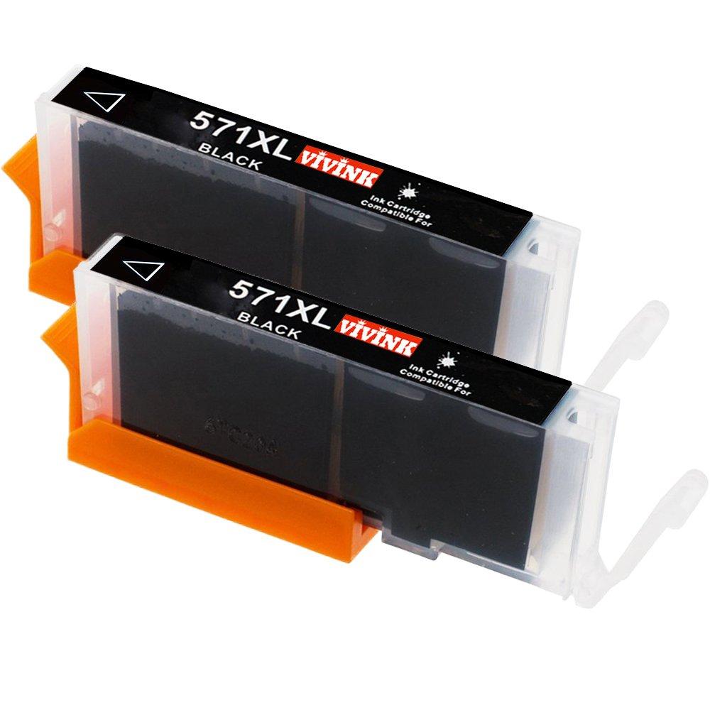 vivink Compatible reemplazos para CLI-571 X L 571 XL Cartuchos de ...