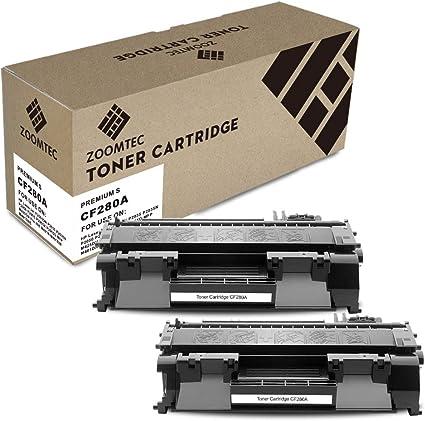 2x CF280X TONER HP LASERJET PRO 400 M401a M401d M401dn M401dw M401n M425dn M425d