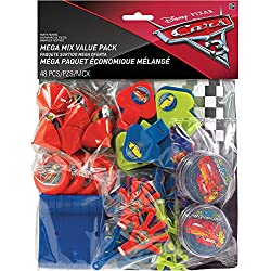 Disney Cars 3 Favor Pack 48 pack Birthday Party Supplies