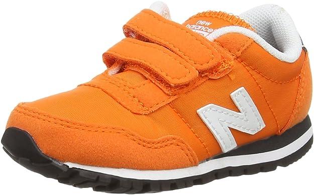 New Balance KV396 Kids Lifestyle Velcro - Zapatillas de Deporte para bebés niños, Color Naranja, Talla 22.5: Amazon.es: Zapatos y complementos
