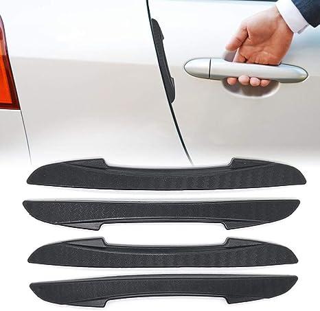 Paracolpi Auto Protezione Portiera Auto Car Rear Bumper Protector Auto Paraurti Posteriore Protector Adesivi Auto Paraurti di Protezione Black,5CM