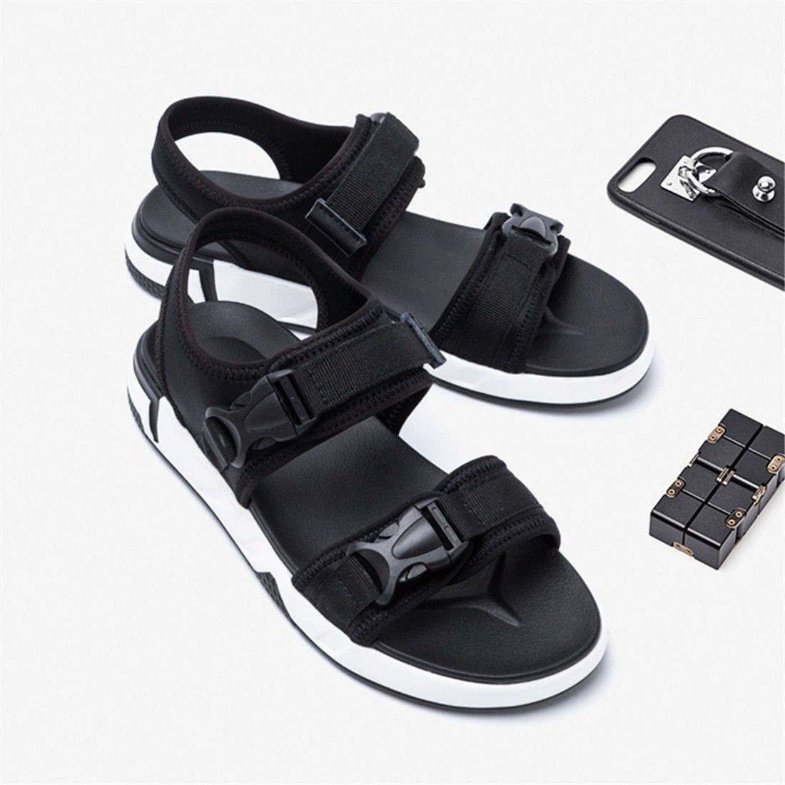 GCH Moda estate uomini pantofole scarpe spiaggia da spiaggia scarpe sandali,43,nero nero 39d9c1