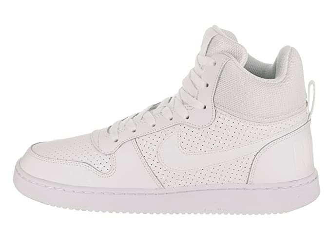 buy popular d7571 2130b Amazon.com   NIKE Men s Court Borough Mid Basketball Shoes   Fashion  Sneakers