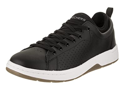 Skechers Men's Alpha Lite Kibbee BlackWhite Casual Shoe 9.5