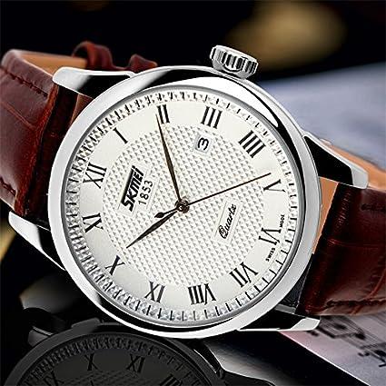 Amazon.com: Relojes de Hombre Sports Luxury Business Casual Quartz Wristwatch De Hombre Para Caballero Elegante RE0017: Everything Else