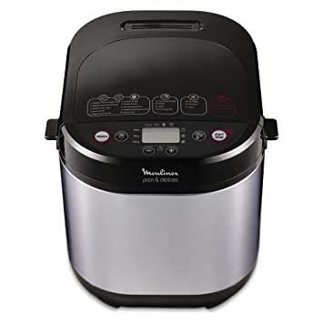 Moulinex Pain & Delices máquina para el pan ow240e 1000 gr, 3 niveles de dorar