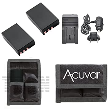Amazon.com: 2 Baterías EN-EL9 para Nikon + Car/cargador de ...