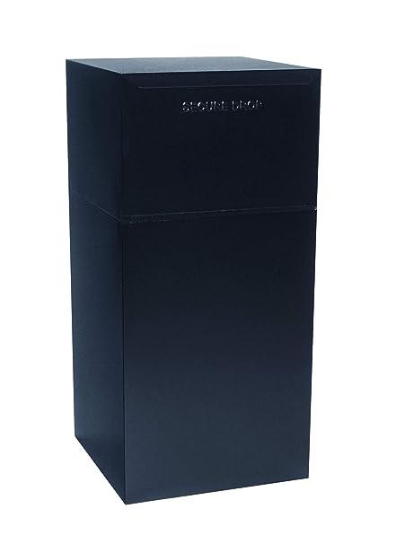 Amazon.com: dvault Locking Curbside entrega Vault, Negro ...