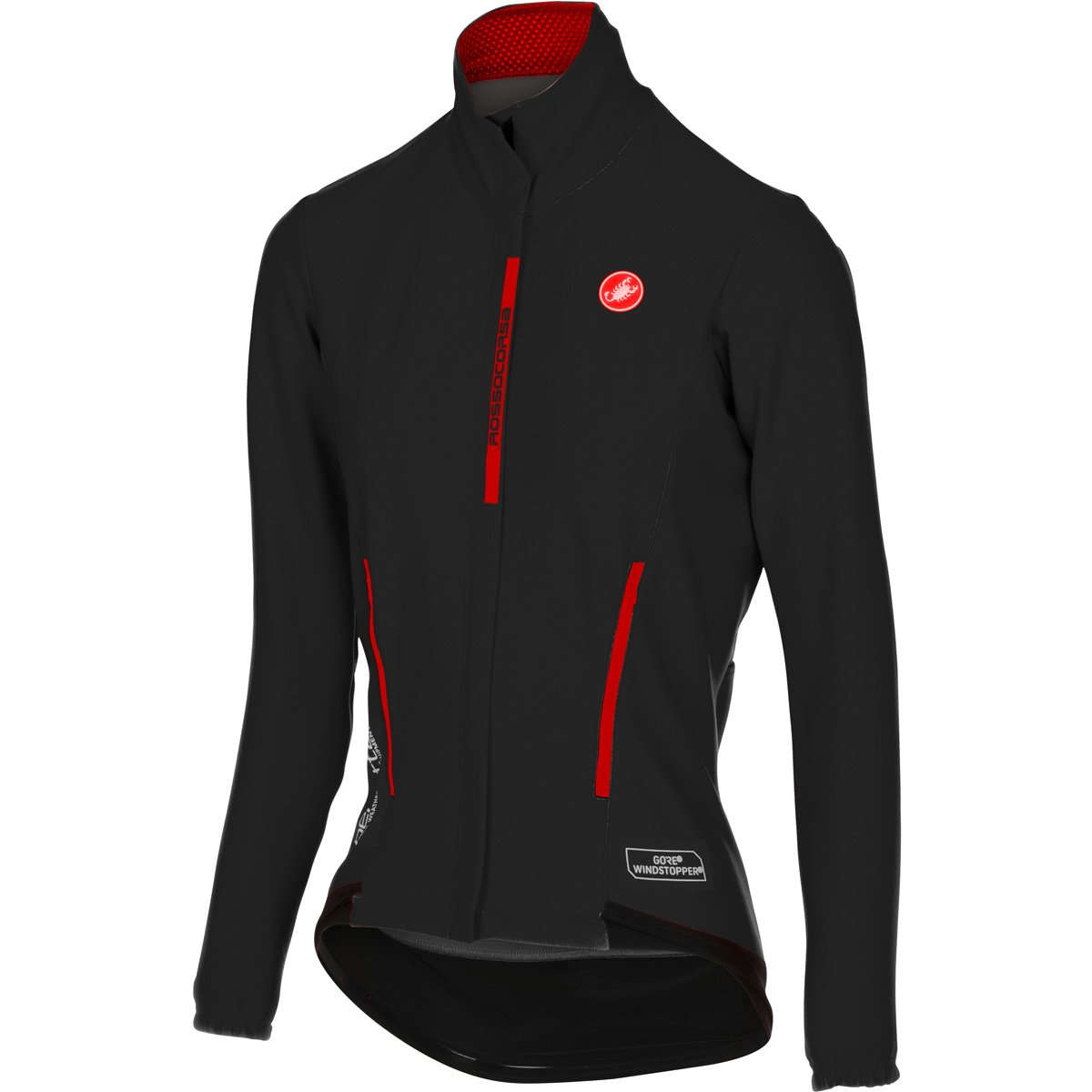 Castelli Perfetto Jersey – Women 's B01LXJCRGN Medium|ブラック ブラック Medium