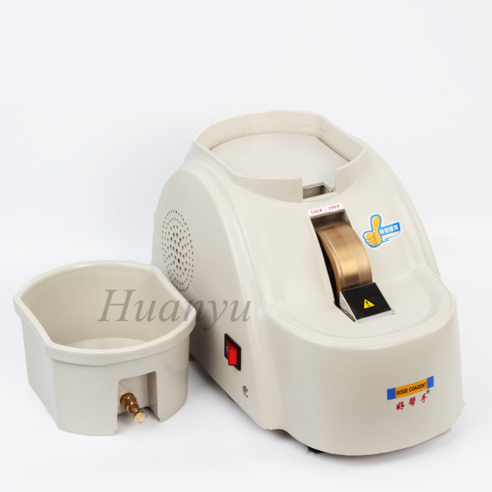 Huanyu CP-11A-35WV Optical Hand Lens Edger Manual Mill Edging Machine Processing Grinder Fine/Coarse Grinding Machine 4200r/min (AC 110V/60Hz) by Huanyu Instrument (Image #5)