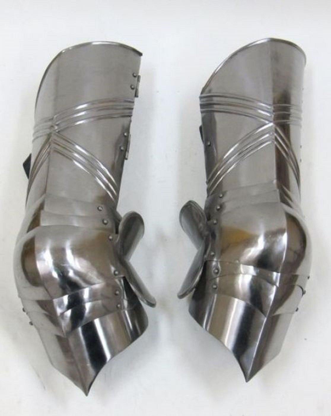 ゴシック脚ガード – 太ももと膝 – Armorセット