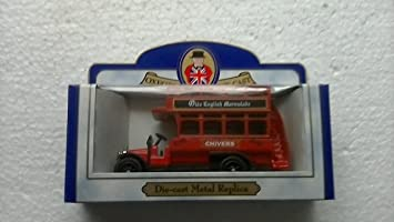 Oxford DIE CAST CHIVERS OLDE ENGLISH MARMALADE EARLY DOUBLE DECK