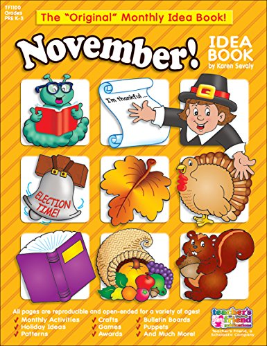 November Monthly Idea (Monthly Idea Book)