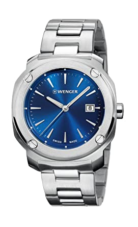 b8d0f0d7967 Image Unavailable. Image not available for. Color  Watch Wenger Men s Edge  Index Watch Quartz Sapphire ...