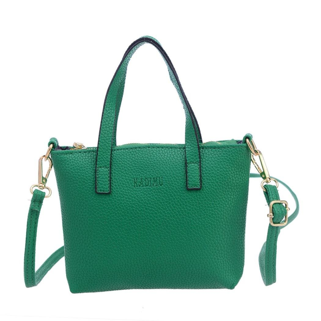 POCCIOL Women Love Bags,Fashion Charming Womens Small Cute Lovely Shoulder Bags Satchel Handbag Tote Hobo Messenger (Green)