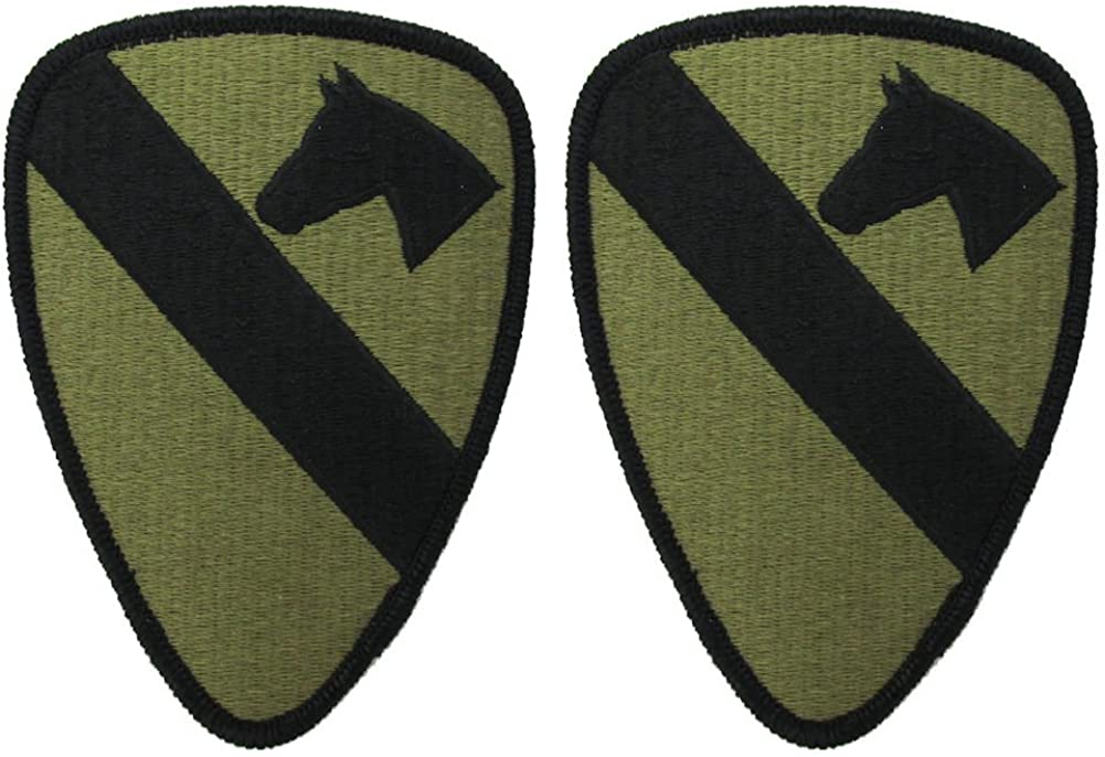 FOURTH 4th CAVALRY 1st Cav Division patch
