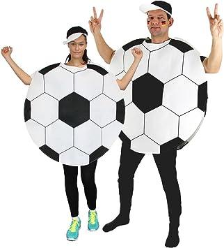Foxxeo 40012 | Disfraz de pelota de fútbol, talla M - XXL: Amazon ...